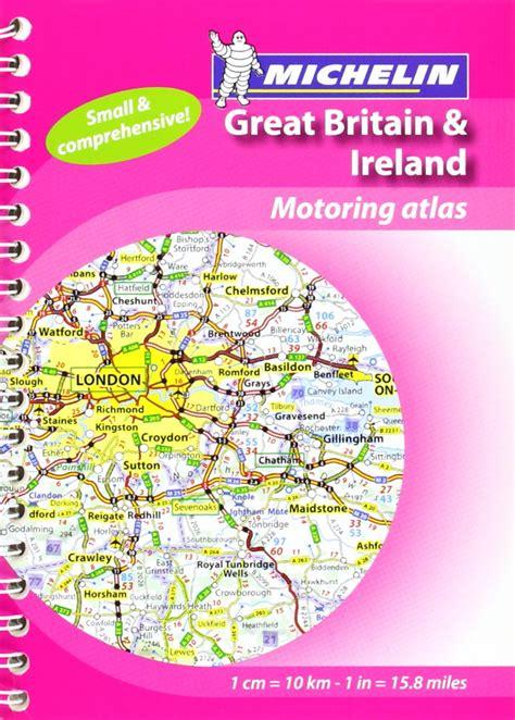 Mini Atlas GB & Ireland (Michelin Tourist & Motoring Atlases) (Michelin Tourist and Motoring Atlases) by (2011-01-10)