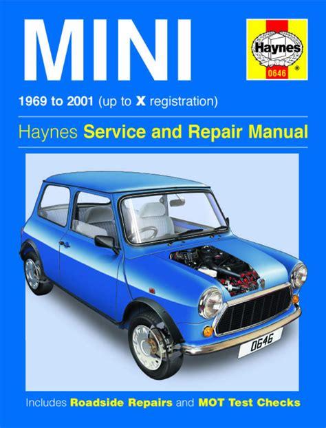 Mini Cooper Online Repair Manual