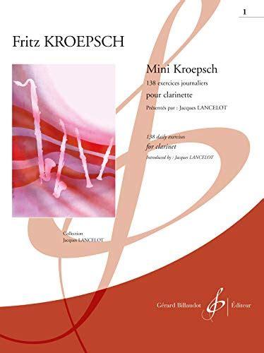 Mini Kroepsch 138 Exercices Journaliers Cahier 1 Elementaire