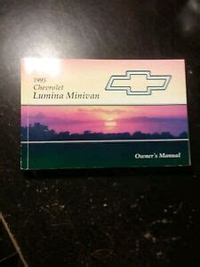 Minivan Lumina Repair Manual