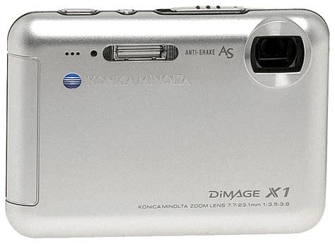 Minolta Dimage X1 Manual