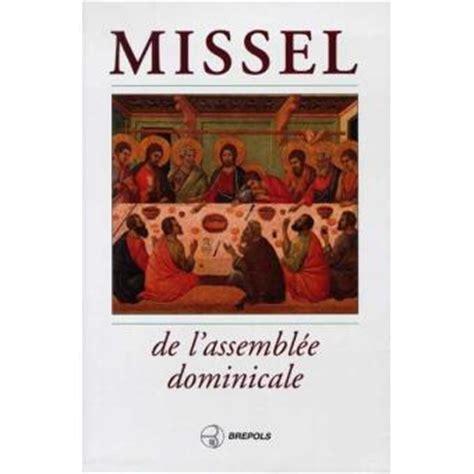 Missel De Lassemblee Dominicale
