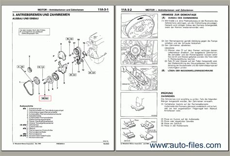 Mitsubishi 4g6 Engines Workshop Repair Service Manual