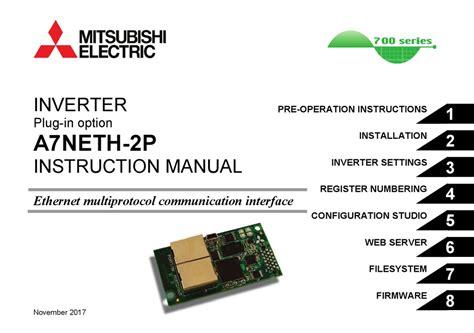 Mitsubishi 700 Manual