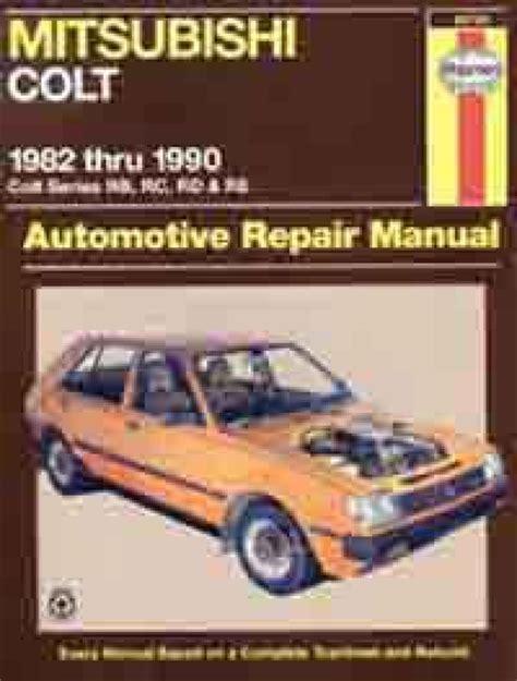 Mitsubishi Colt Haynes Manual