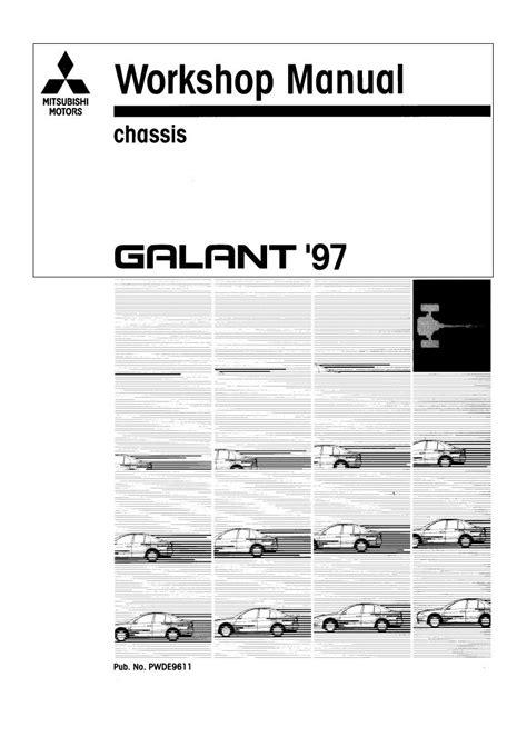 Mitsubishi Galant 1997 Workshop Service Manual