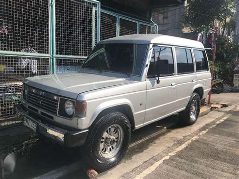 Mitsubishi Pajero Manual 1988