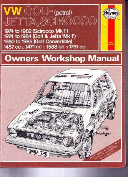Mk1 Golf Body Repair Manual