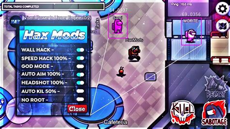 Mod Menu For Among Us 2021