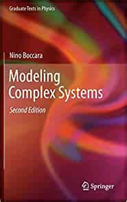 Modeling Complex Systems Graduate Texts In Physics