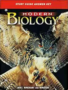 Modern Biology Study Guide Fish