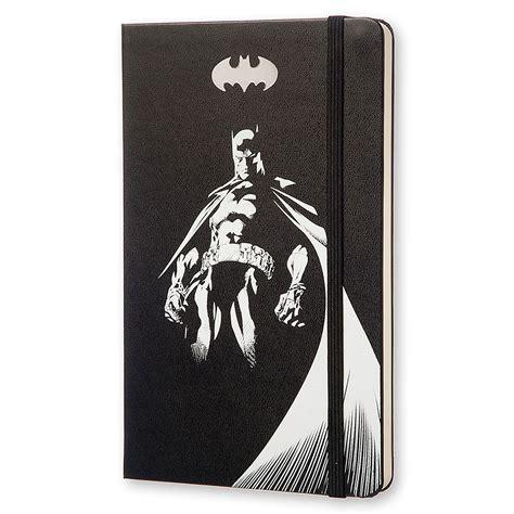 Moleskine Batman Edition Limitee Carnet De Note Large Plain Noir Couverture Rigide 21 X 13 Cm