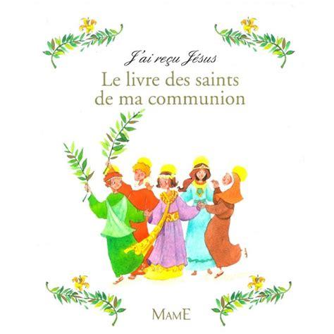 Mon Bel Livre D Or De Ma Premiere Communion J Ai Recu Jesus Parfait Accord D Idees De Sentiments Motif Bleu