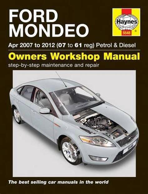 Mondeo Repair And Service Manual