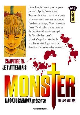 Monster, tome 16 : Je t'attendais