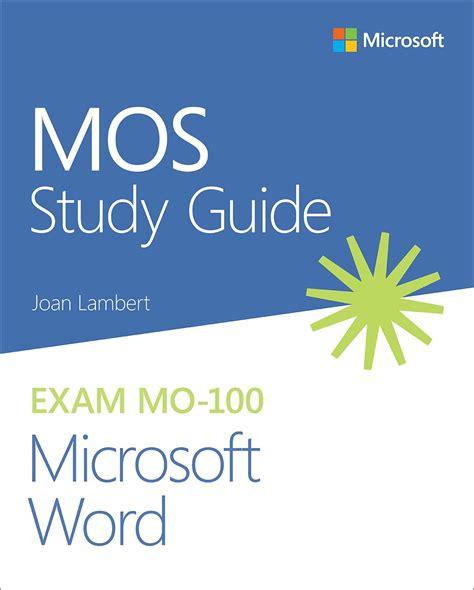 Mos Study Guide