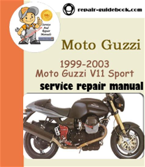 Moto Guzzi V11 Service Repair Workshop Manual
