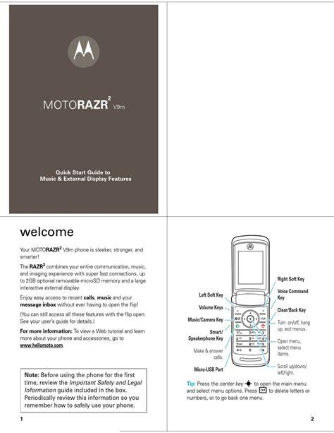 Motorazr V9m Manual