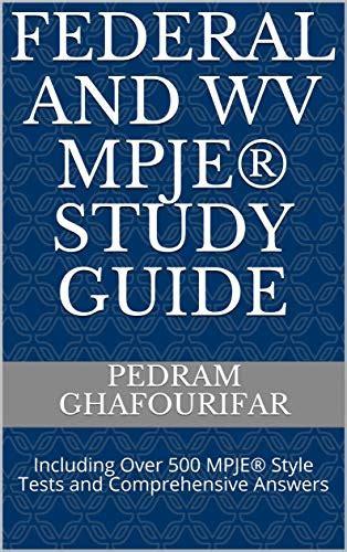 Mpje Study Guide Midwestern