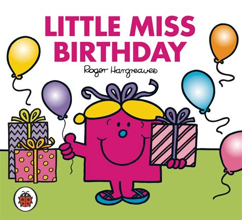 Mr Birthday Mr Men And Little Miss