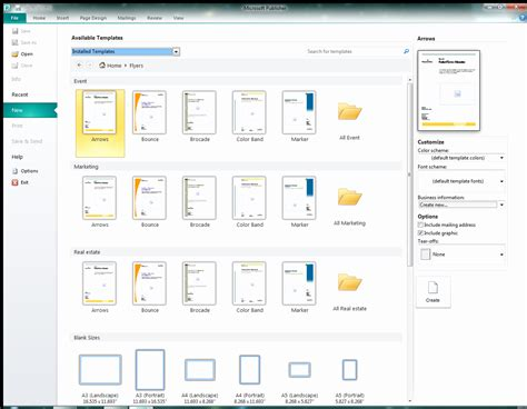 Ms Publisher Manual Templates