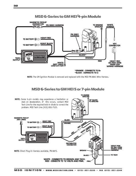 Msd 6al Wiring Schematic
