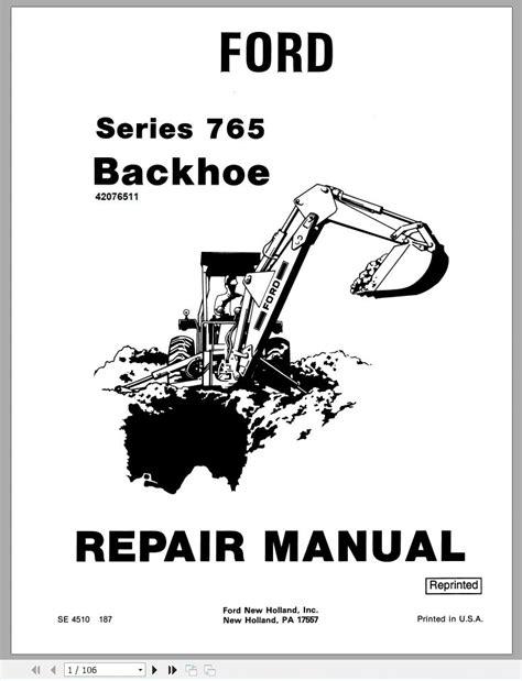 Mtd 765 Series Service Manual