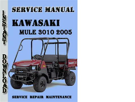 Mule 3010 Service Manual