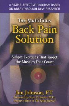 Multifidus Back Pain Solution: Simple Exercises That Target the Muscles That Count