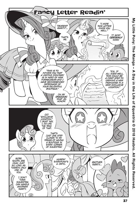 My Little Pony The Manga A Day In The Life Of Equestria Vol 1