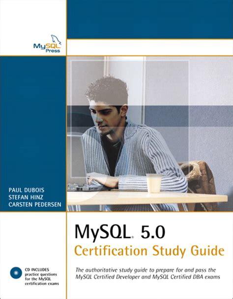 Mysql Certification Study Guide 2013