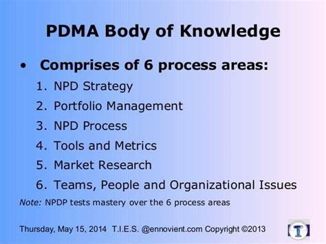 NPDP Exam Topics