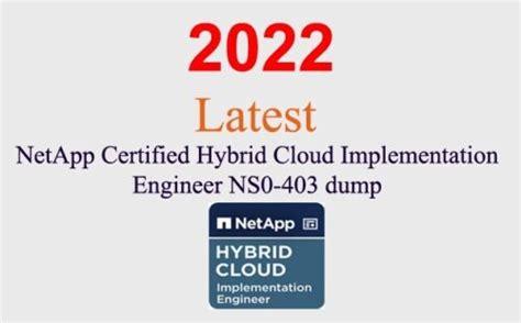 NS0-403 Free Dump Download