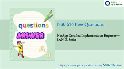 NS0-516 Exam Sims