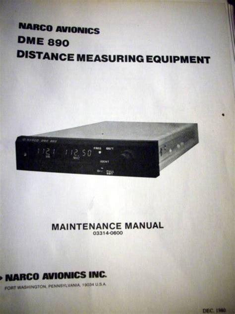 Narco 890 Dme Service Manual