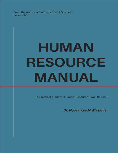 Nasa Human Resource Management Manual