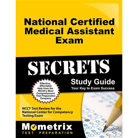 National Certified Medical Assistant Exam Secrets Study Guide Ncct Test Review For The National Center For Competency Testing Exam