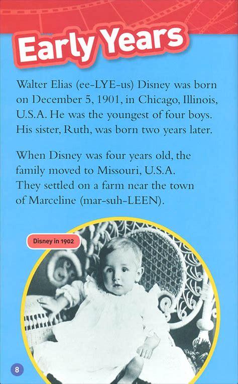 National Geographic Readers Walt Disney National Geographic Readers Level 3