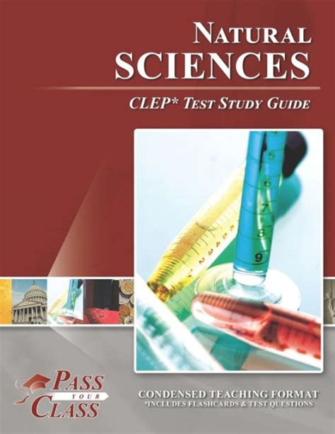 Natural Science Clep Study Guide 2015