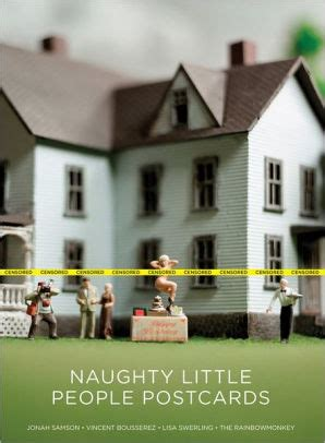 Naughty Little People Postcards