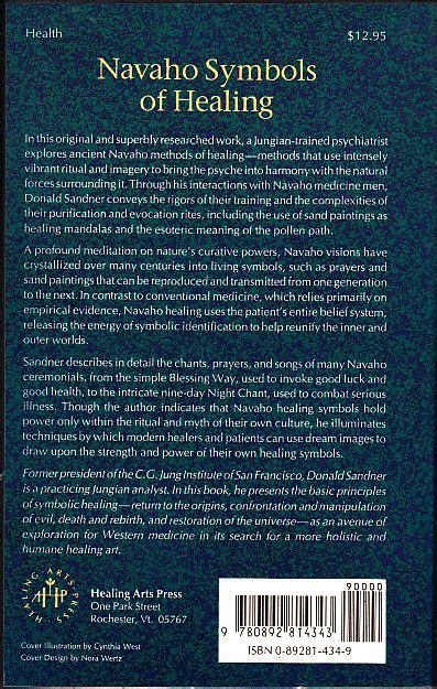 Navaho Symbols Of Healing A Jungian Exploration Of Ritual Image And Medicine