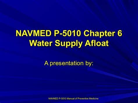 Navmed P 5010 Manual Of Preventive Medicine