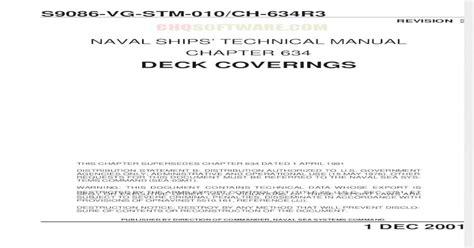 Navsea Tech Manual Chapter 584