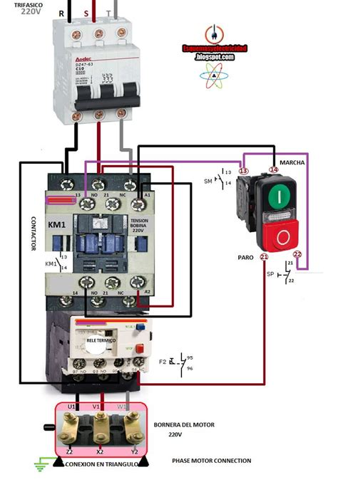 Nc Contactor Wiring Diagram