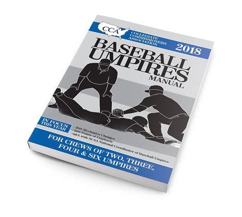 Ncaa Umpire Mechanics Manual