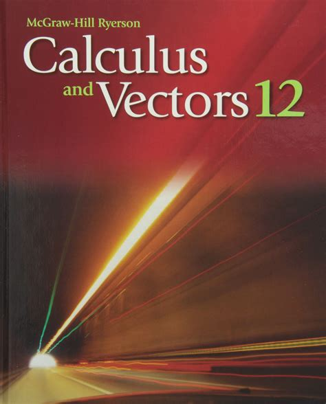 Nelson Calculus And Vectors 12 Answer