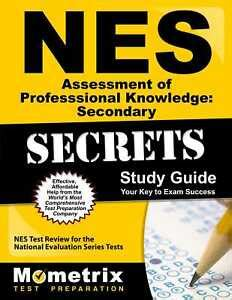 Nes Professional Knowledge Secondary Best Study Guide