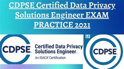 New CDPSE Test Topics