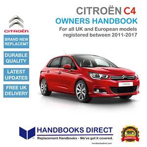 New Citroen C4 Owners Manual