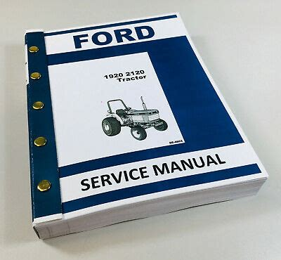 New Holland 2120 Owner Manual
